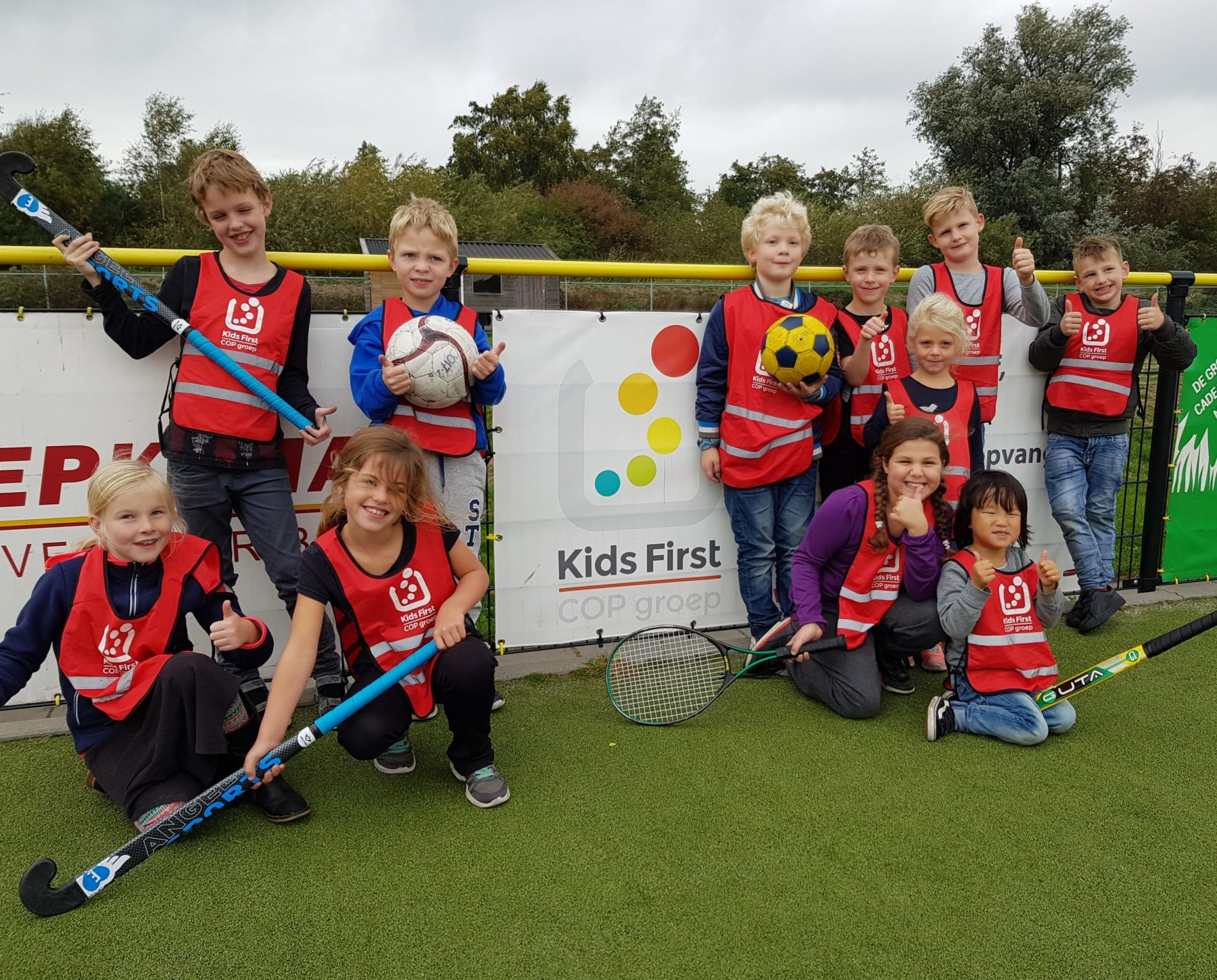 Buitenschoolse opvang 4 - 12 jaar BSO Kids First COP groep
