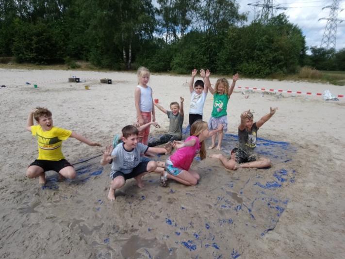 Modderdag Kloosterveen - Kids First COP groep