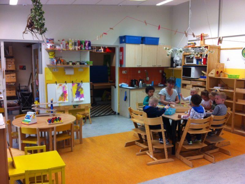 Dribbel Peuteropvang Hoogkerk Groningen Kids First COP groep