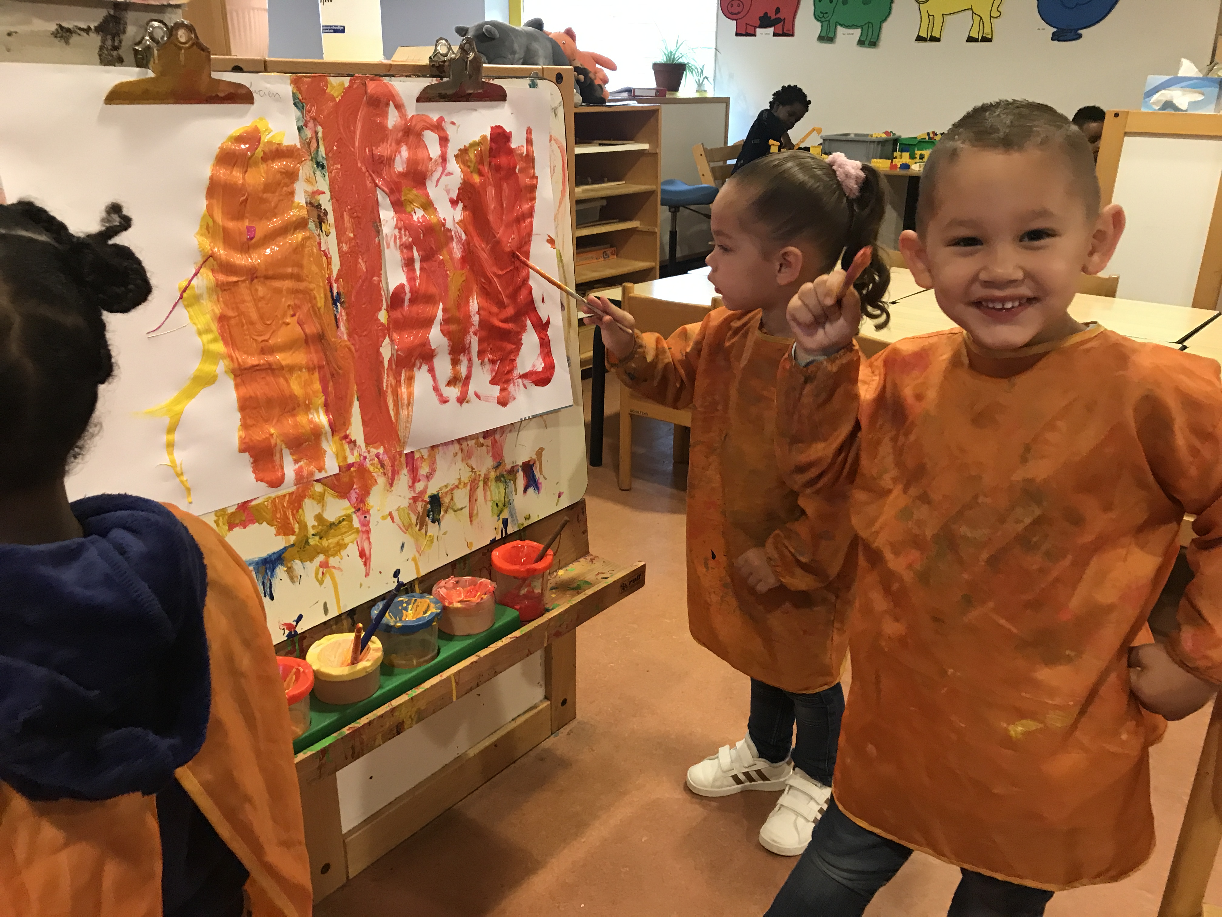 Peuteropvang Ienemini Selwerd Groningen - Kids First COP groep kinderopvang