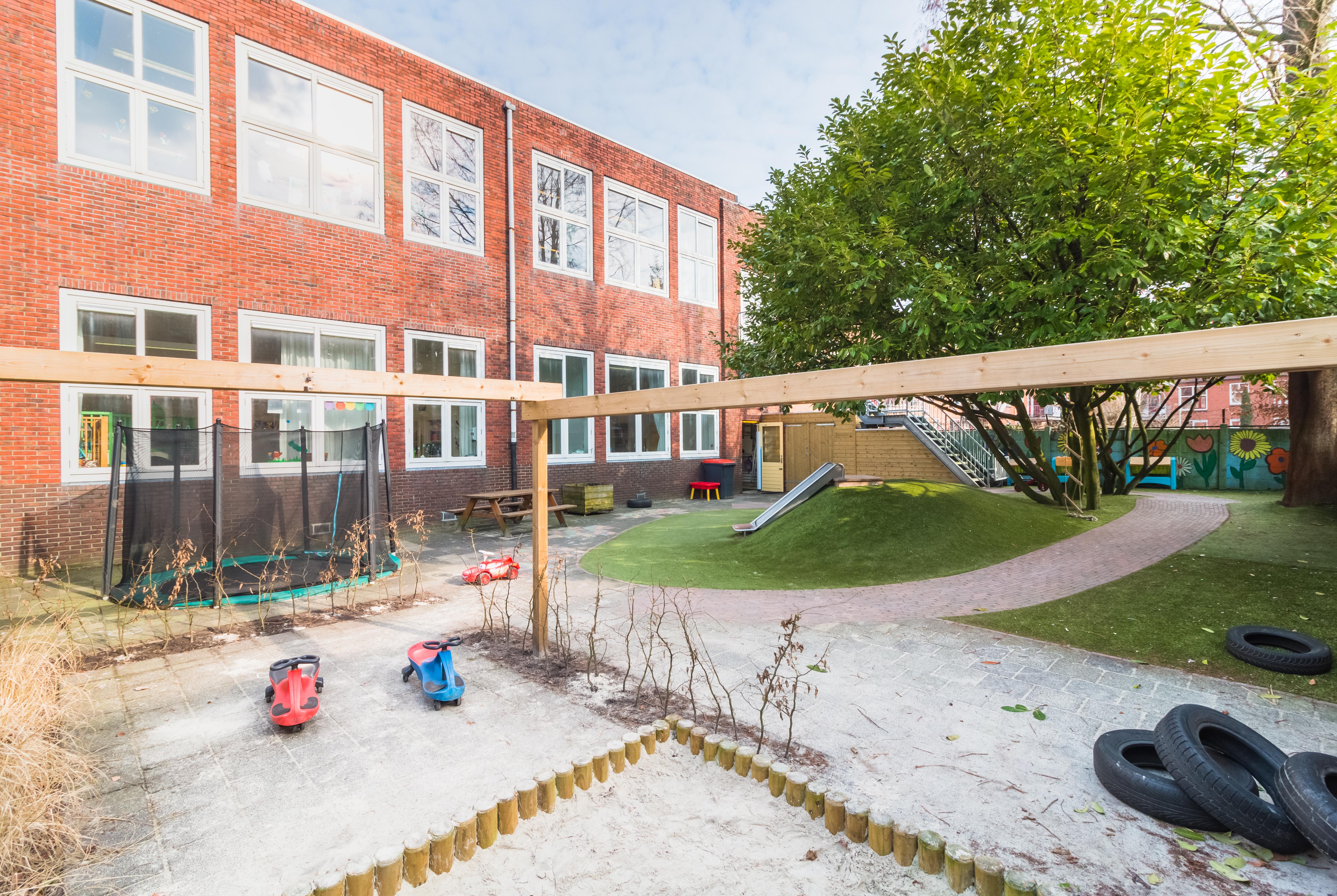 Lutje Potje Peuteropvang Groningen buiten - Kids First COP Groep
