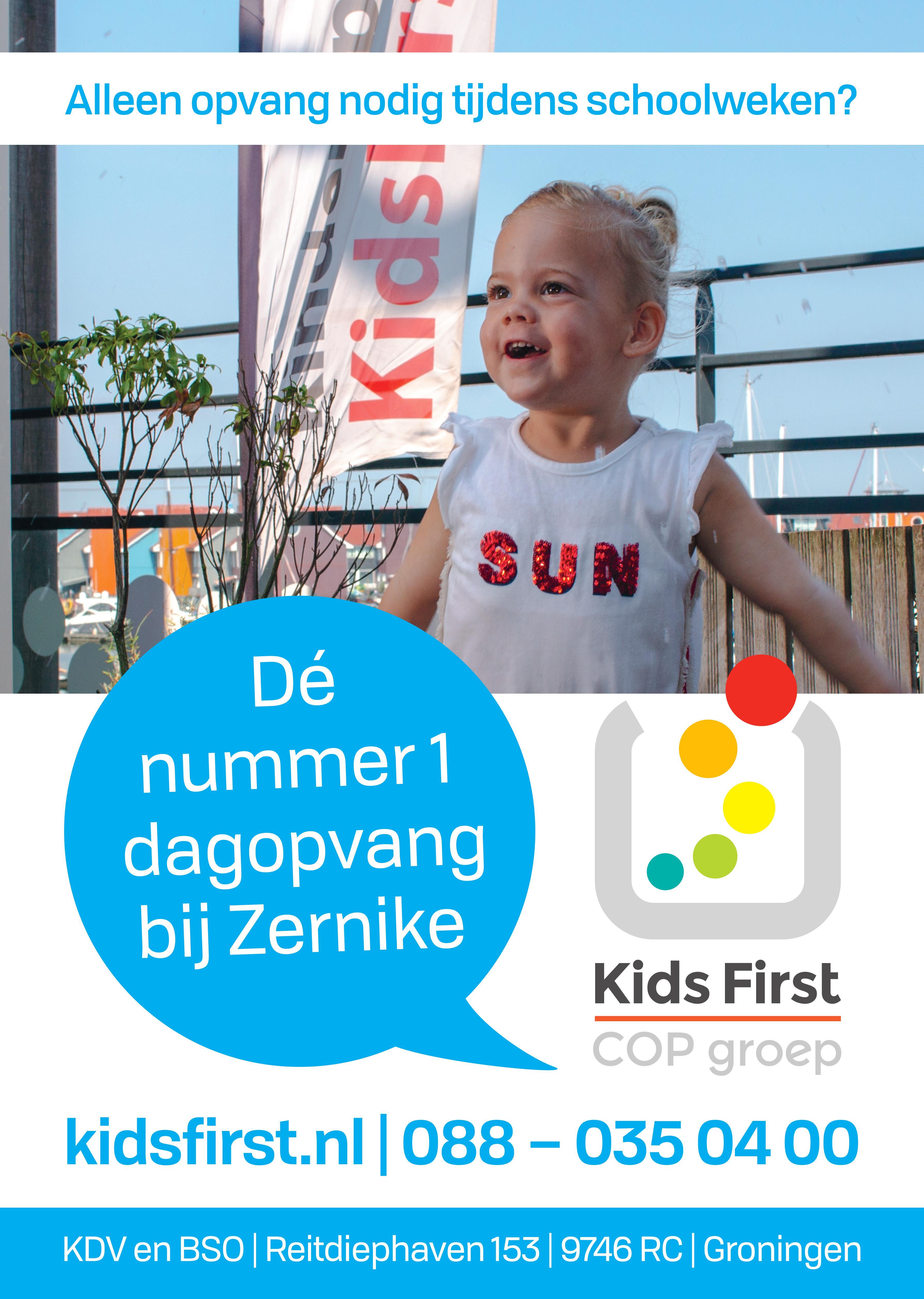 BSO Reitdiephaven Groningen - Kids First COP groep
