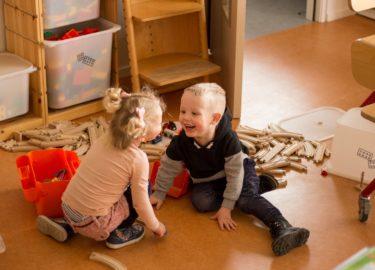 Peuteropvang Peuterhonk Kids First COP groep Friesland samen spelen