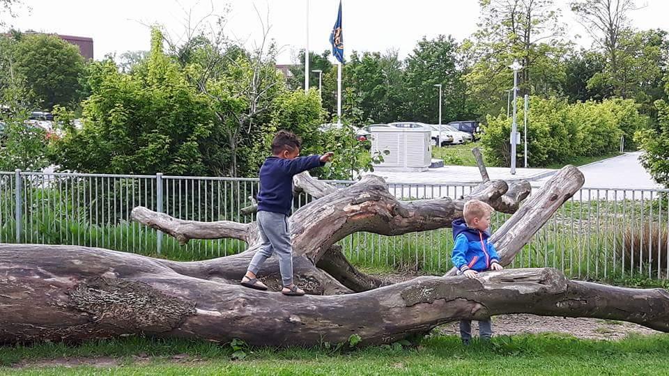 Peuteropvang De Krobbe Dobbe in Sneek, Binnenstebuiten locatie Kids First COP groep