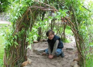 Binnenstebuiten locatie Wilgenhut Kids First COP groep