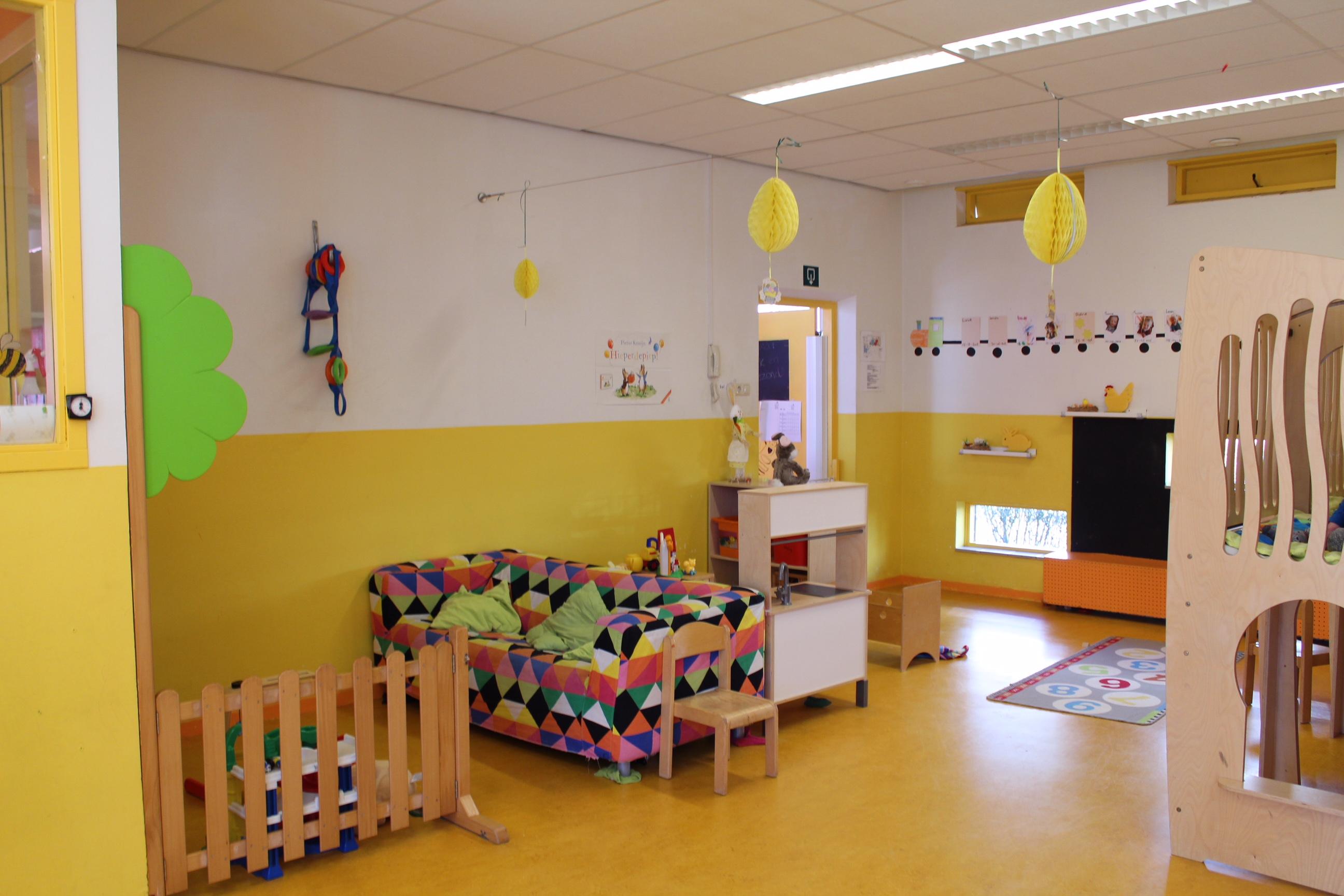 Alles Kids kinderdagverblijf Oosterparkwijk Groningen Kids First COP groep binnen