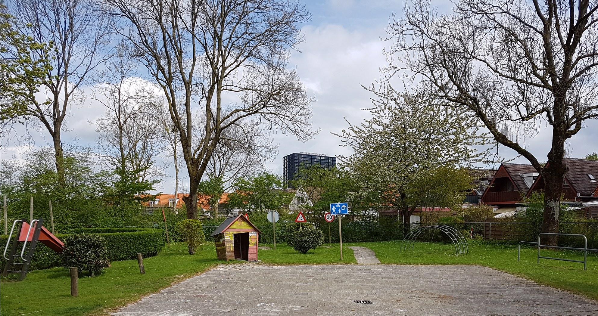 Alles Kids kinderdagverblijf Oosterparkwijk Groningen Kids First COP groep plein