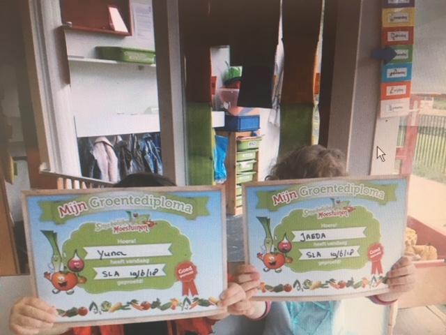 Smakelijke moestuinen, gezonde kinderopvang Groentediploma