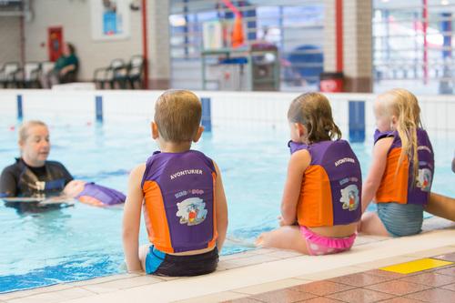 Zwemles tijdens de BSO in Bolsward en Dokkum, Kids First COP groep