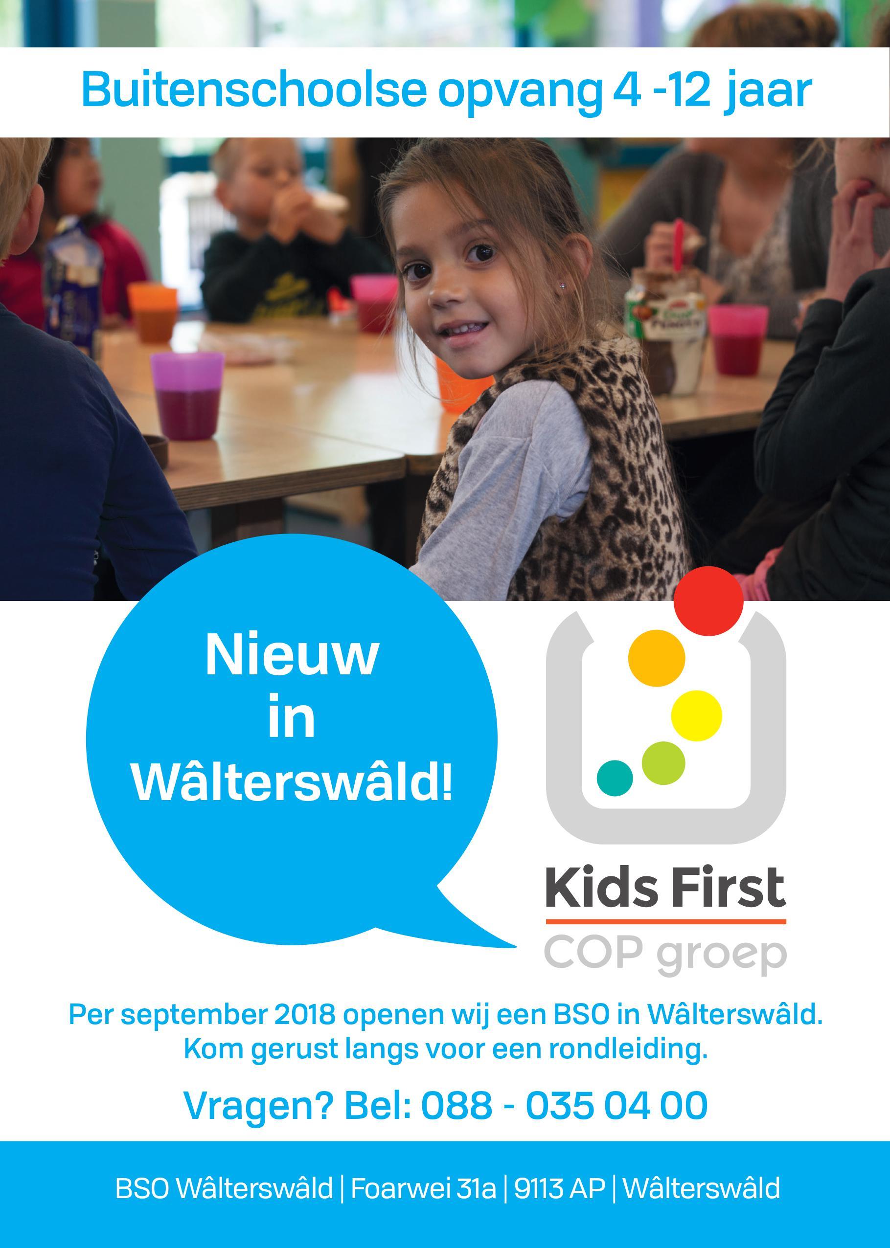 BSO Wâlterswâld - Kids First COP groep