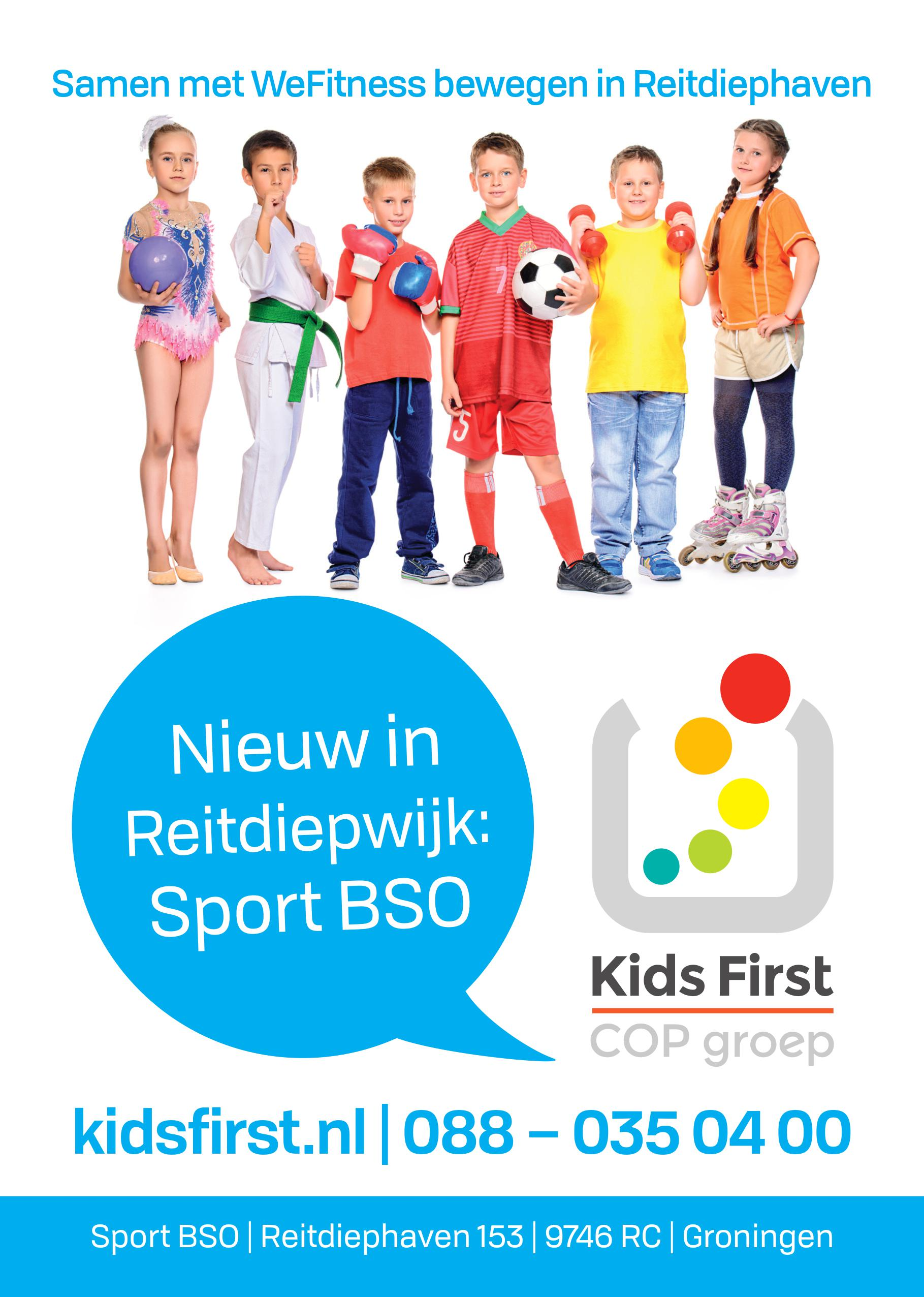 SPORT BSO Reitdiephaven - WeFitness Kids First COP groep