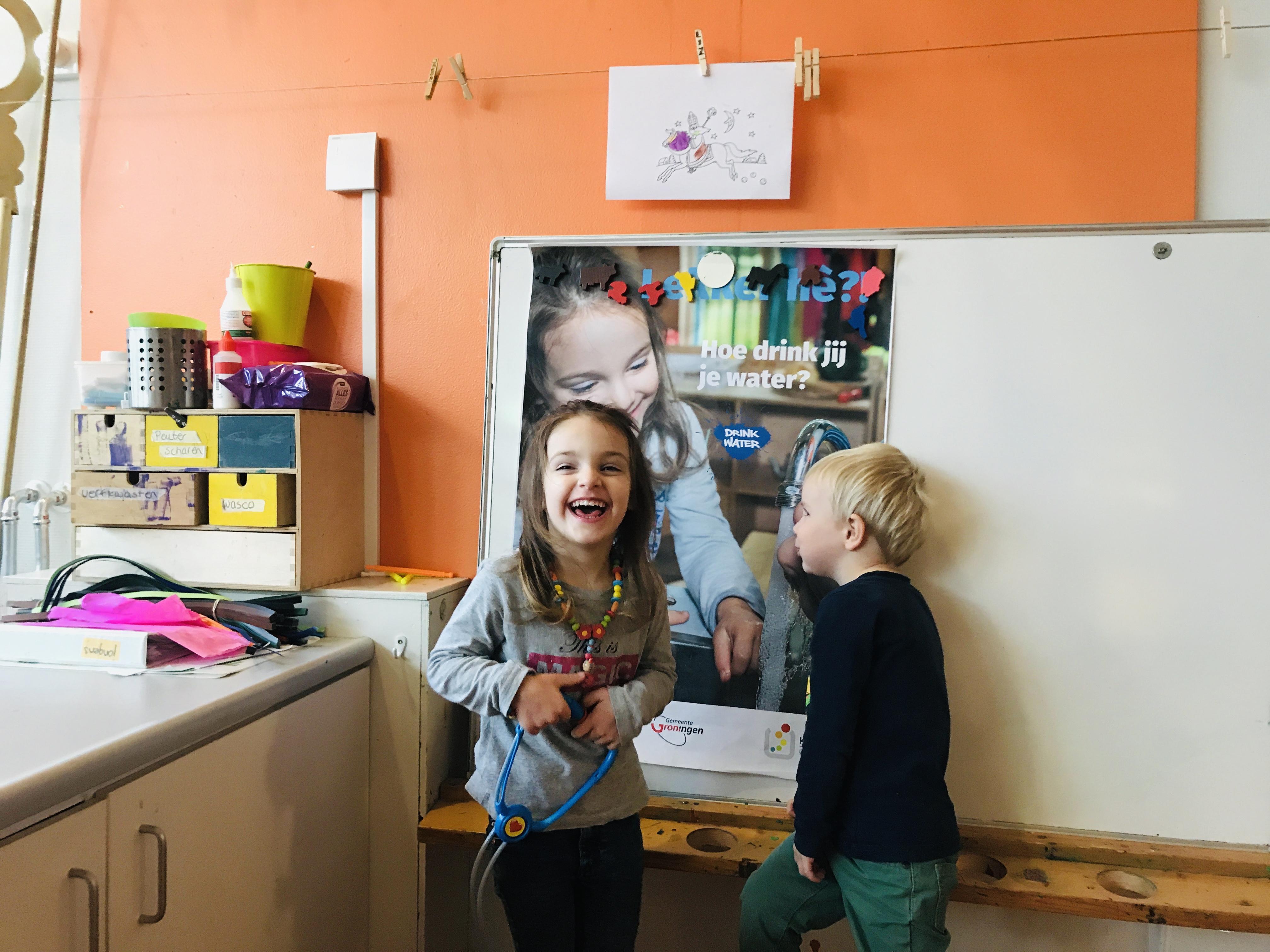 Limonade in de ban - Drink water - Kids First COP groep Groningen1