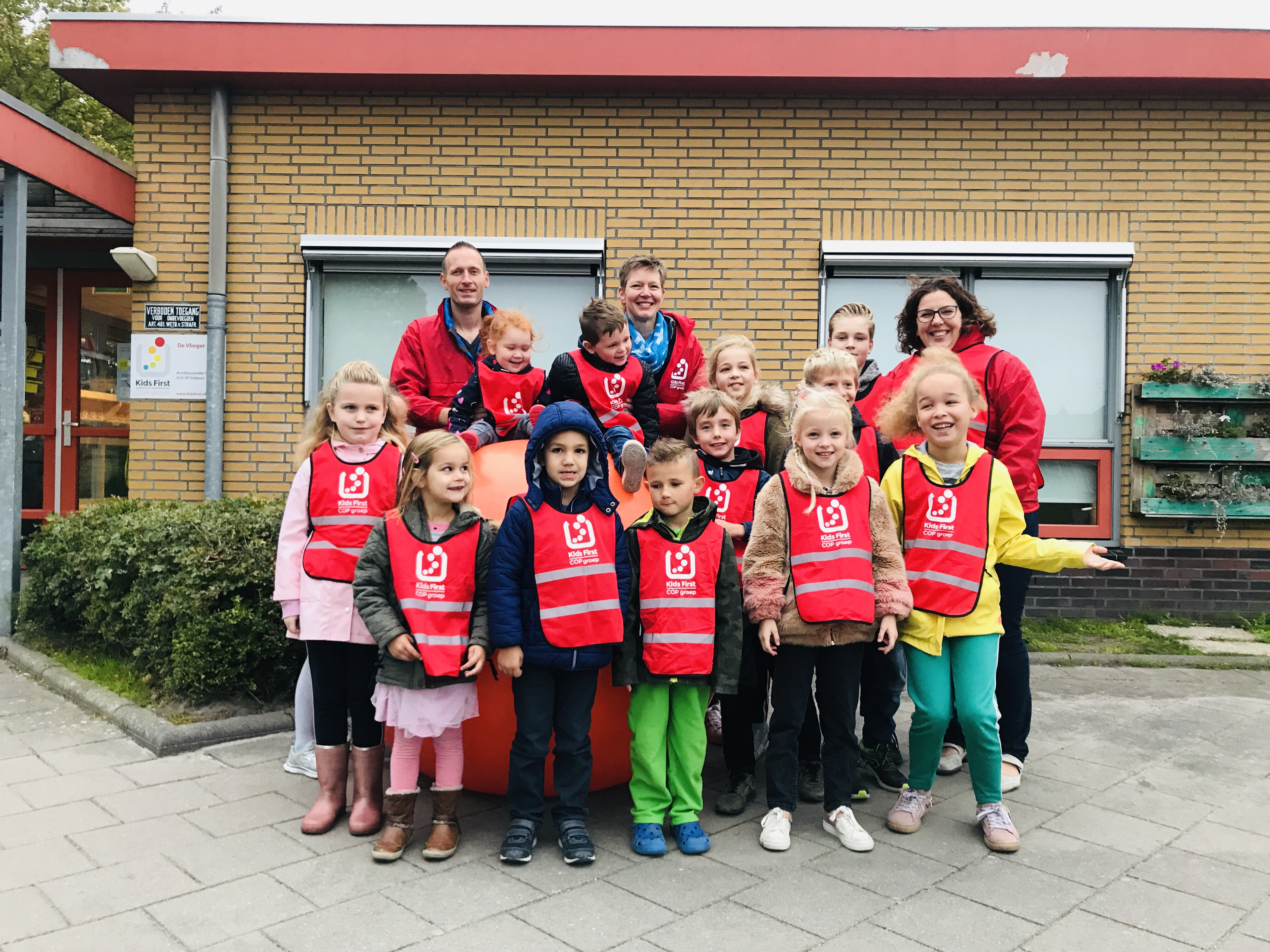 Rollen tegen roken -2018 Kids First COP groep Friesland