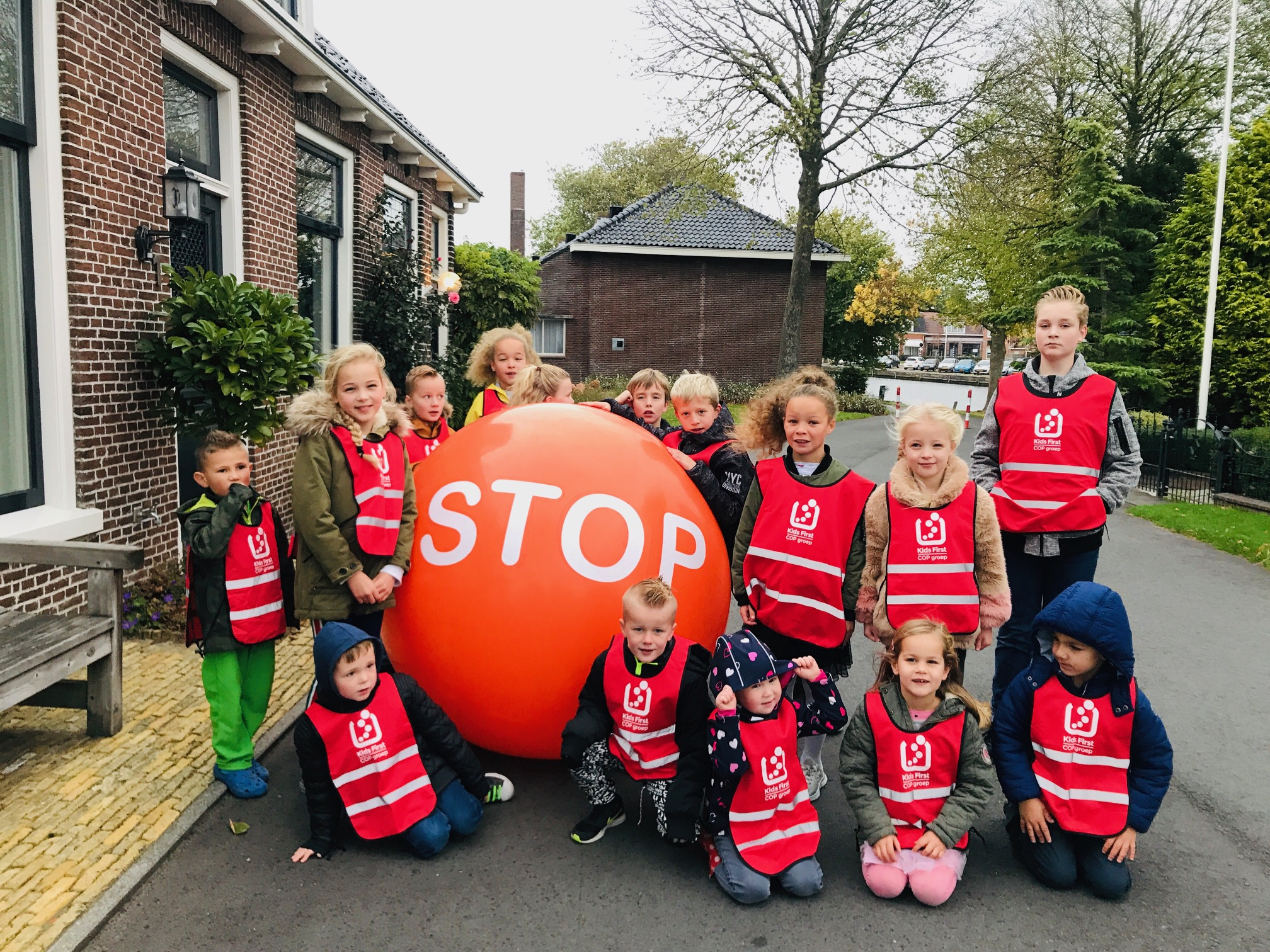 Rollen tegen roken -2018 Kids First COP groep Friesland - 5