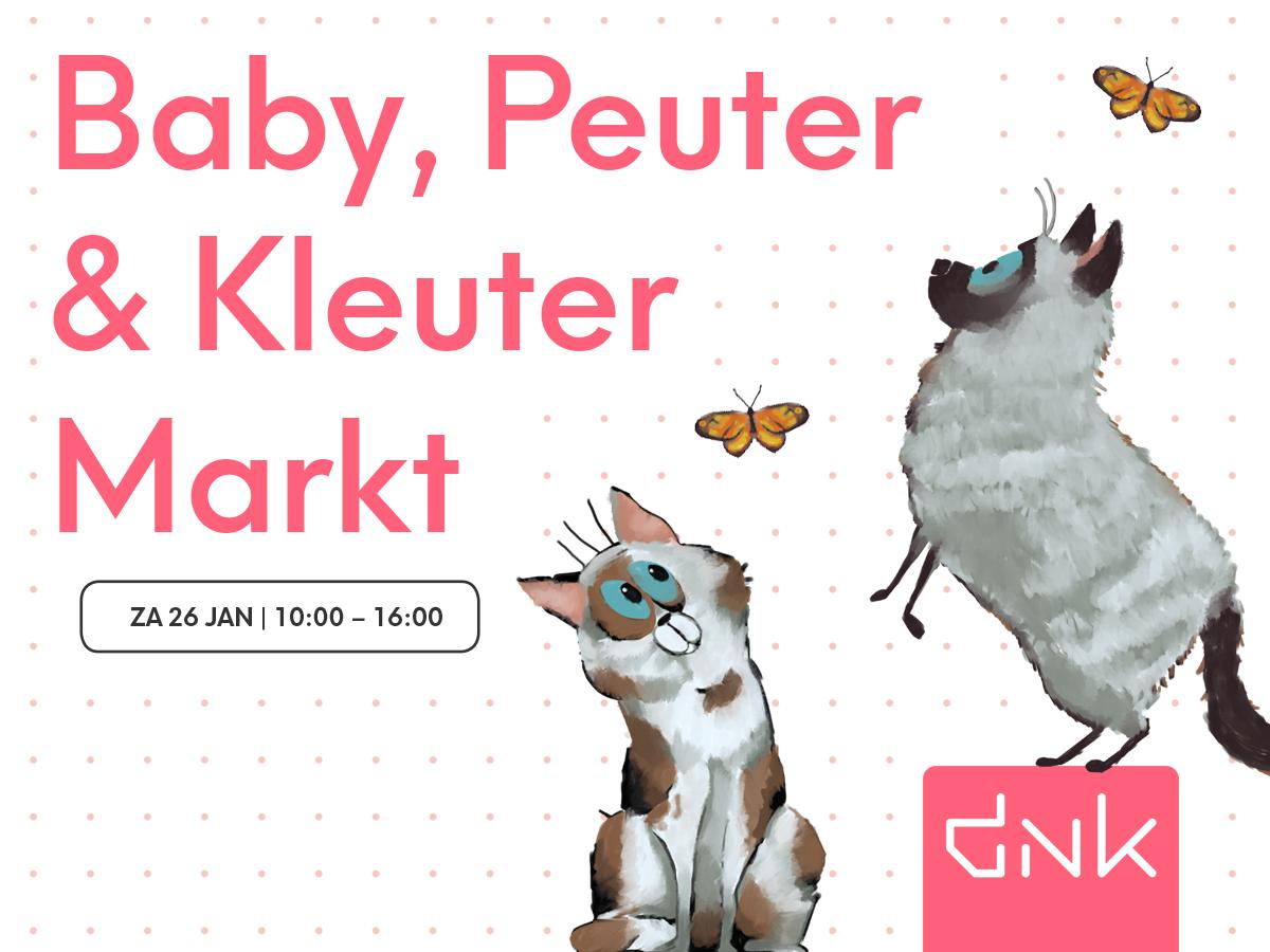 Baby, peuter & kleuter markt Assen - Kids First COP groep Drenthe