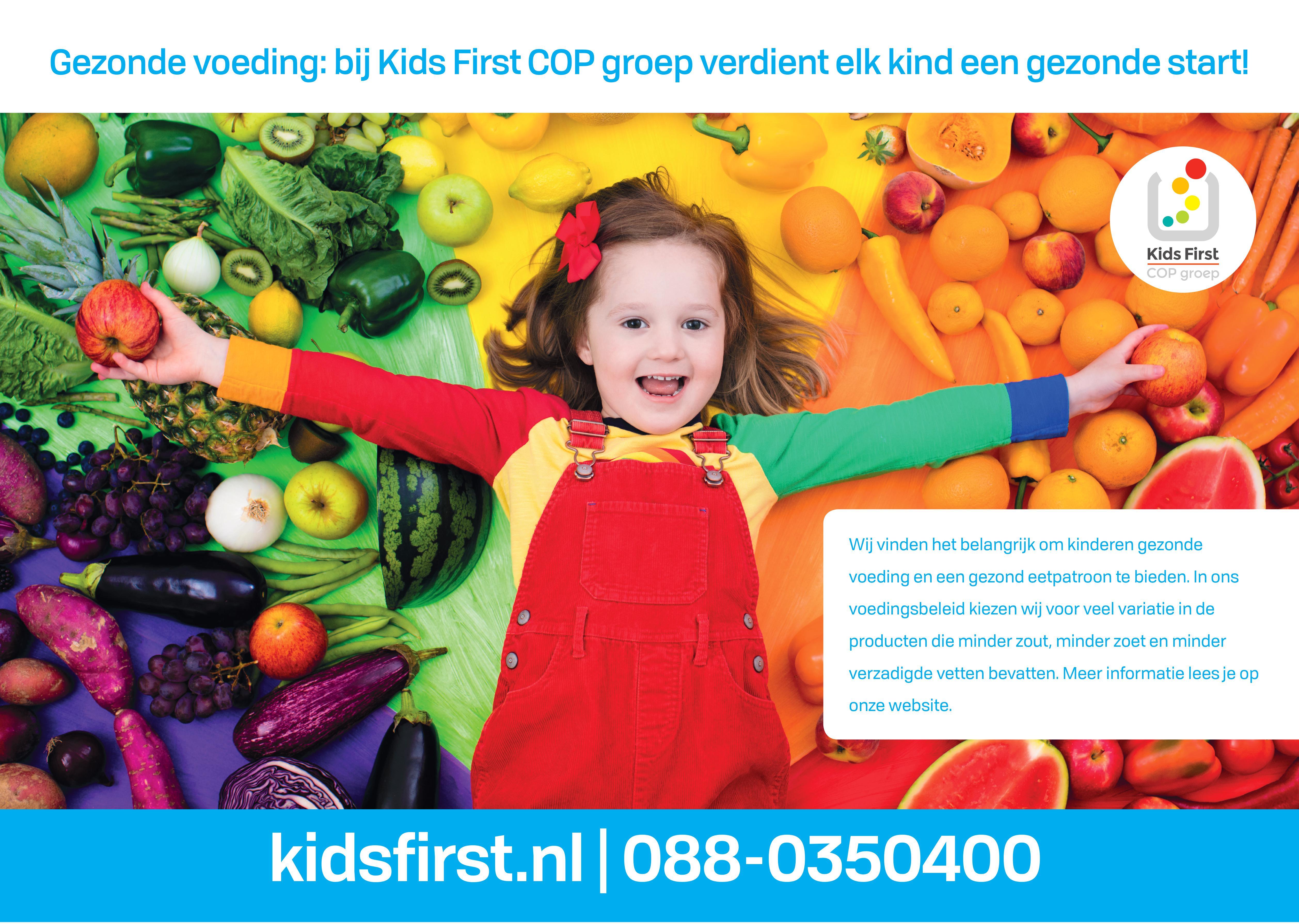 Gezonde Opvang - Kids First COP groep
