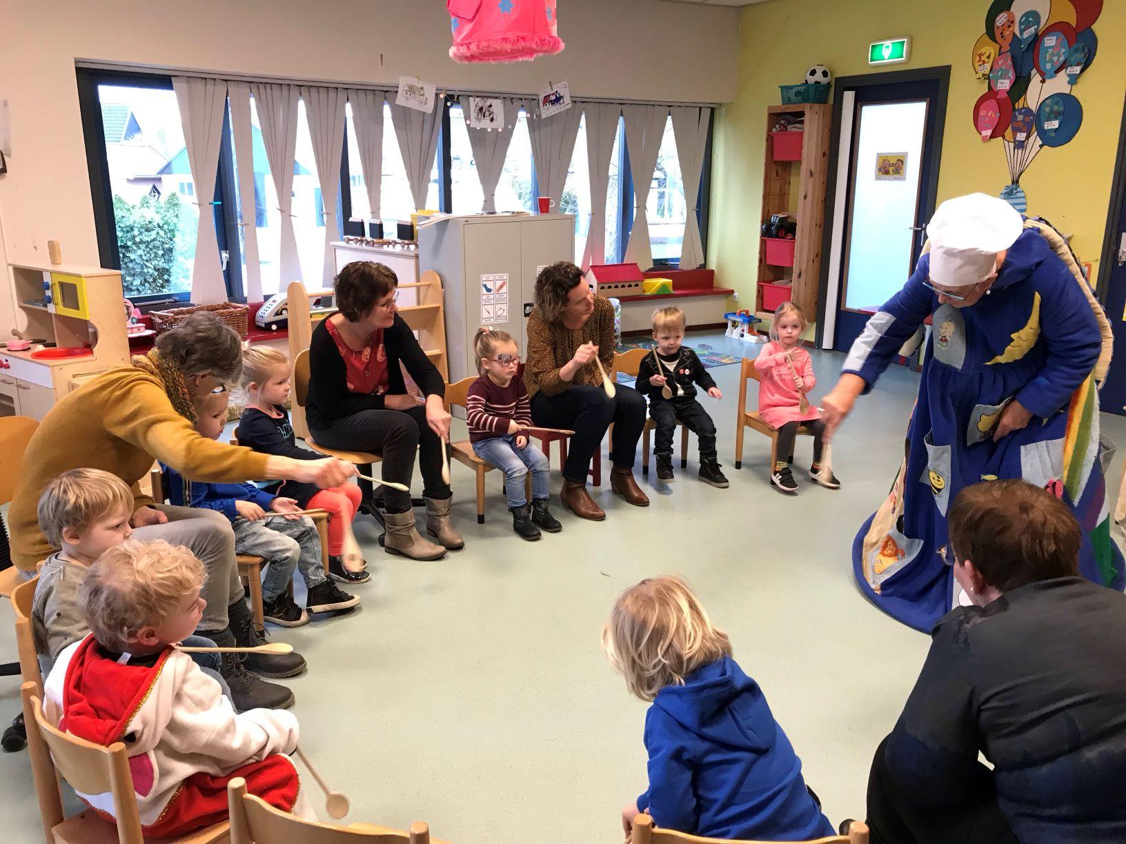 Peuterpret Raerd, certificering tweetalige opvang Kids First COP groep Friesland