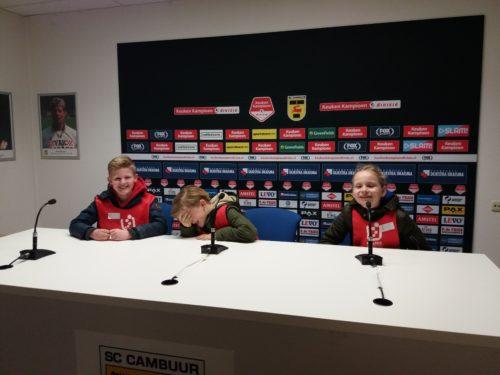 SC Cambuur stadiontour BSO Kids First COP groep Friesland - Leeuwarden
