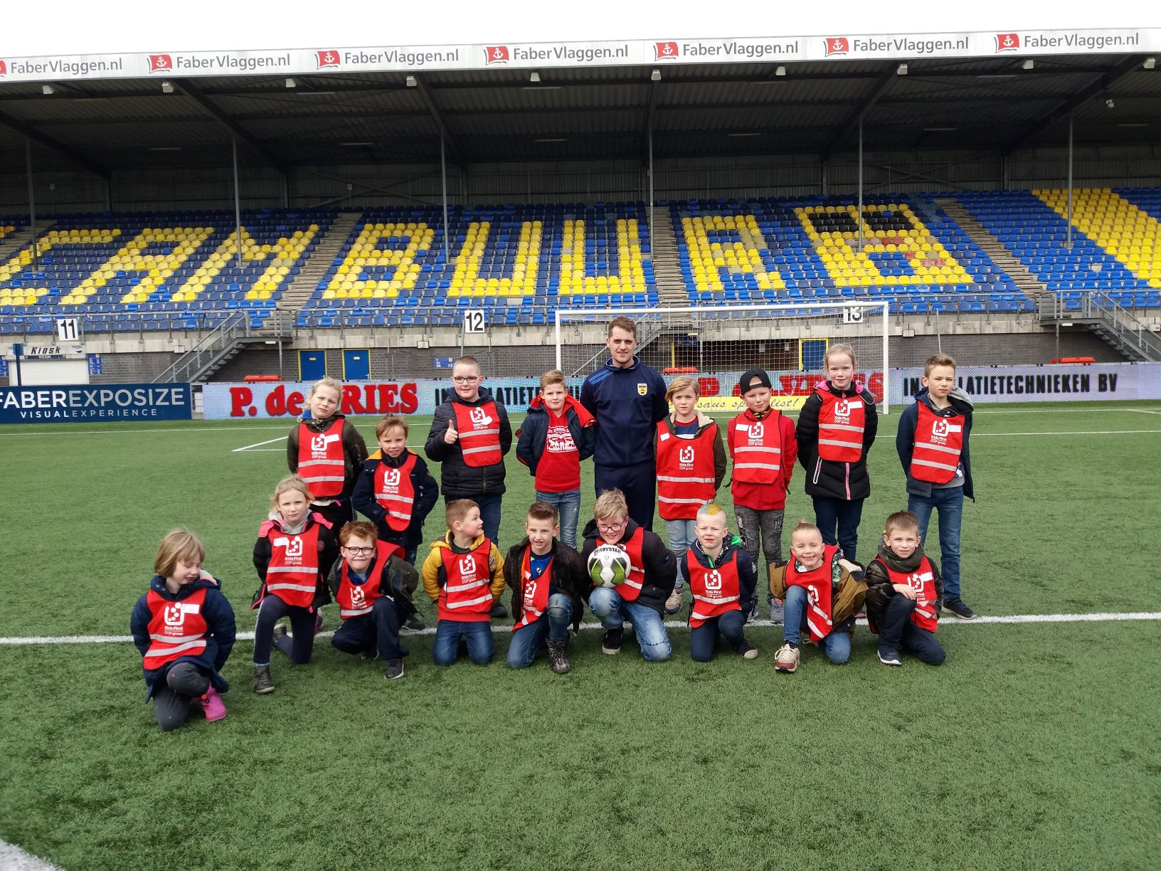 SC Cambuur - stadionbezoek BSO Kids First COP groep Friesland