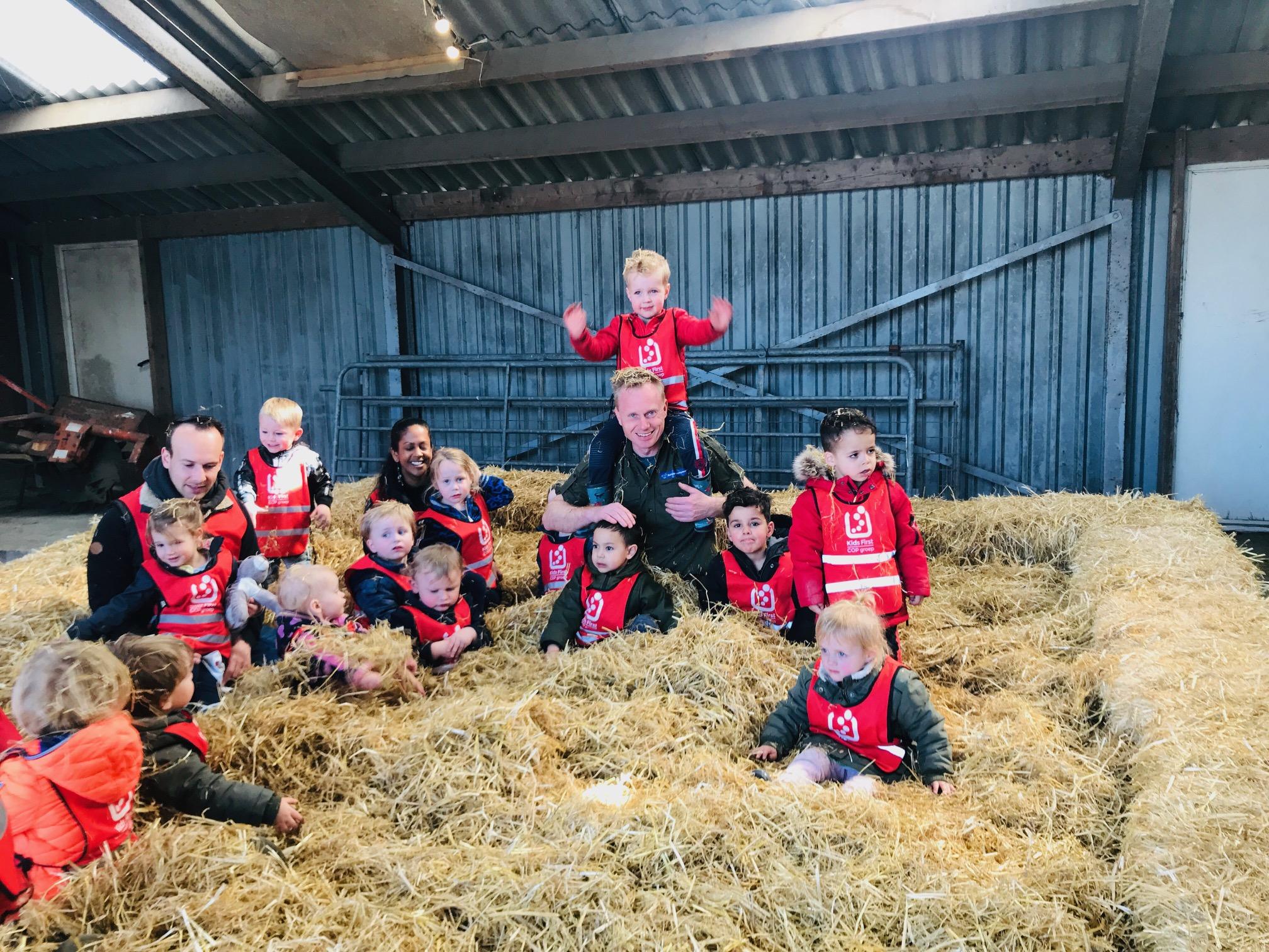 Kids First COP groep - Lammetjesdag 2019 met Boswachter Bart