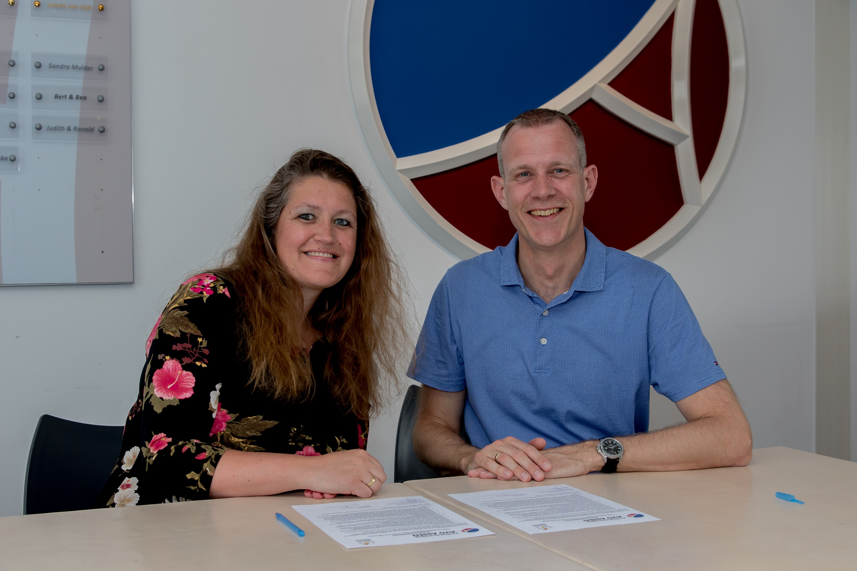 Samenwerkingsovereenkomst met korfbalvereniging AVO - Kids First COP groep