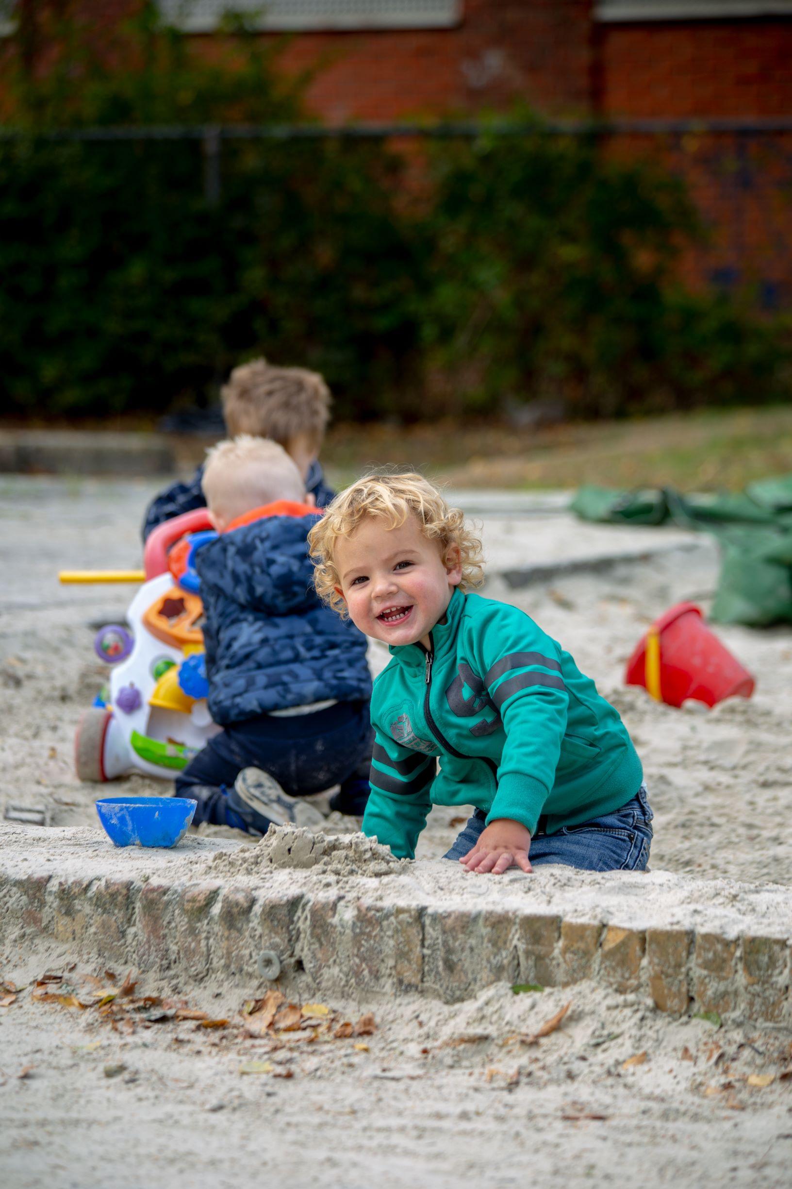 KDV spelende kinderen - Kids First COP groep