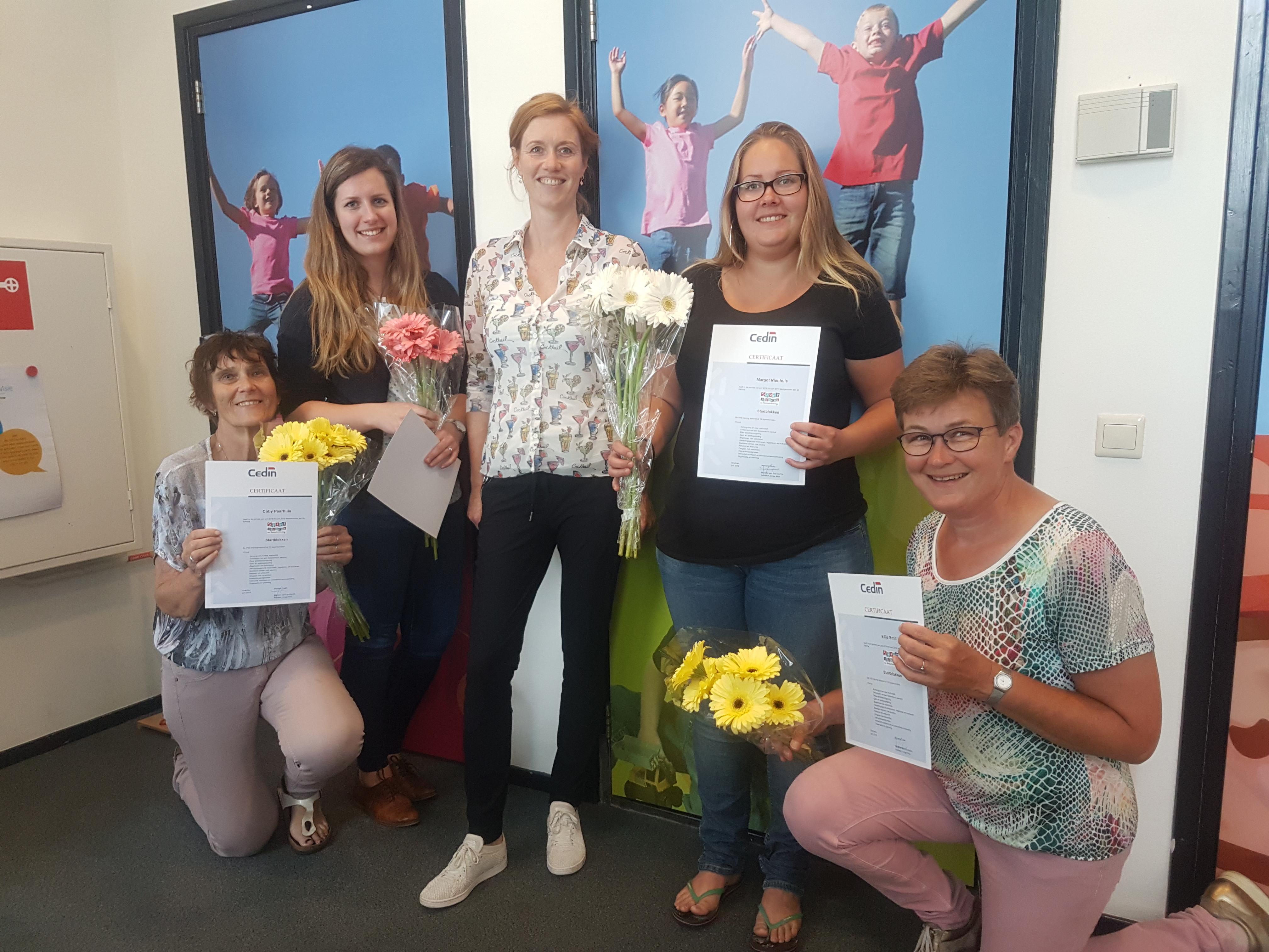 Training Startblokken succesvol afgerond - Kids First COP groep