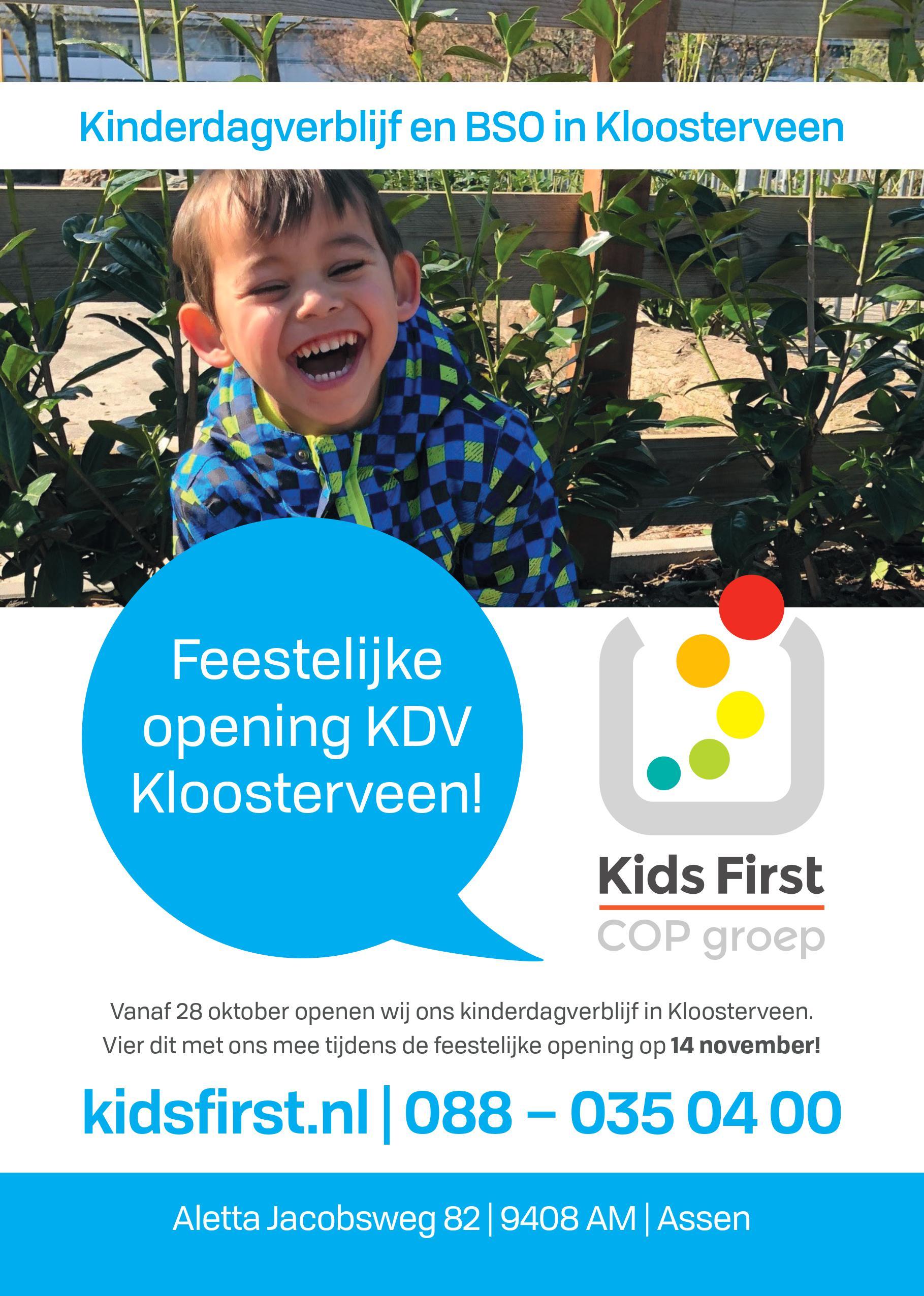 Kloosterveen Assen - BSO en KDV Kinderopvang Assen