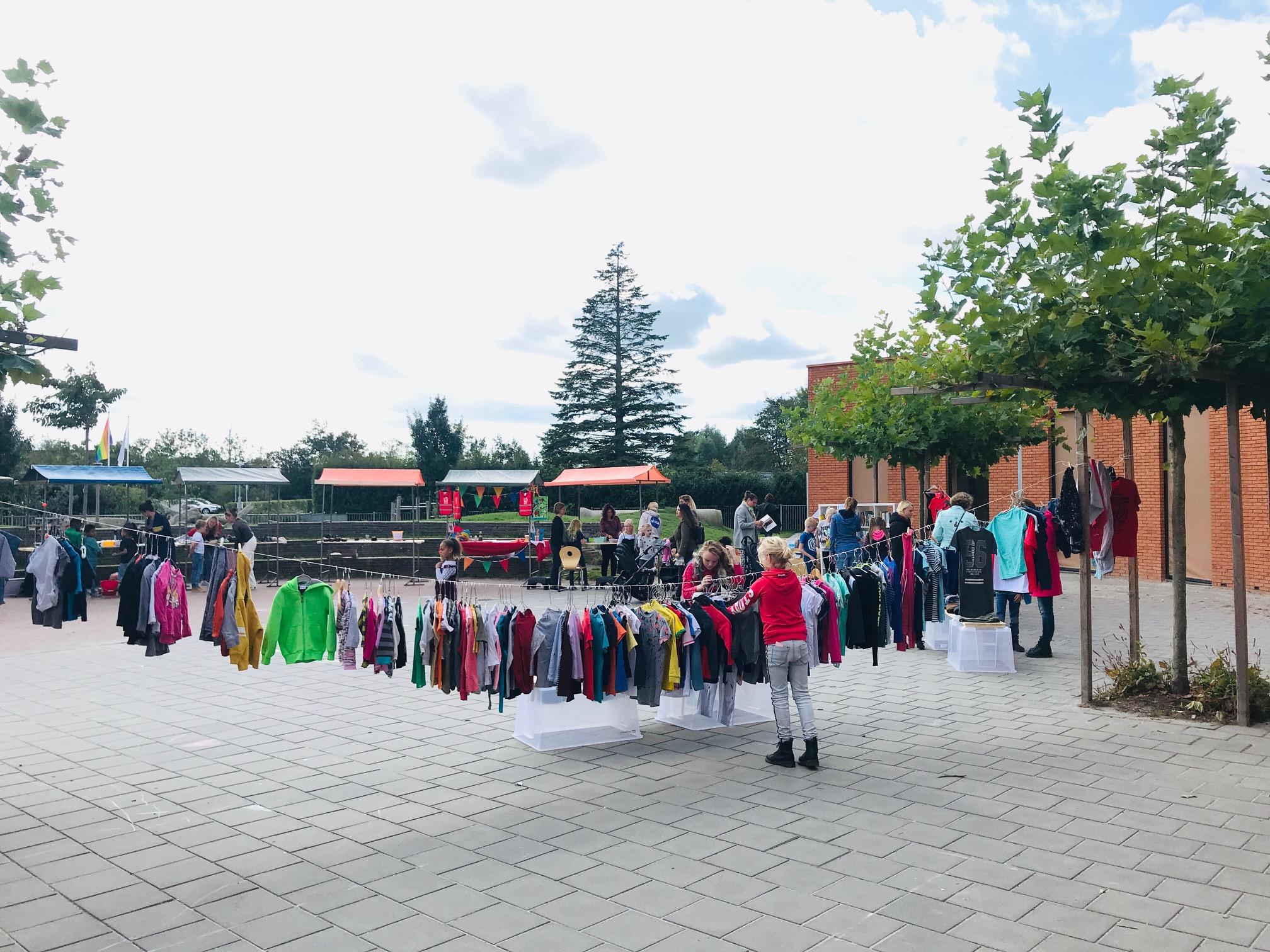 Duurzame markt Sneek - BSO Kids First COP groep Friesland