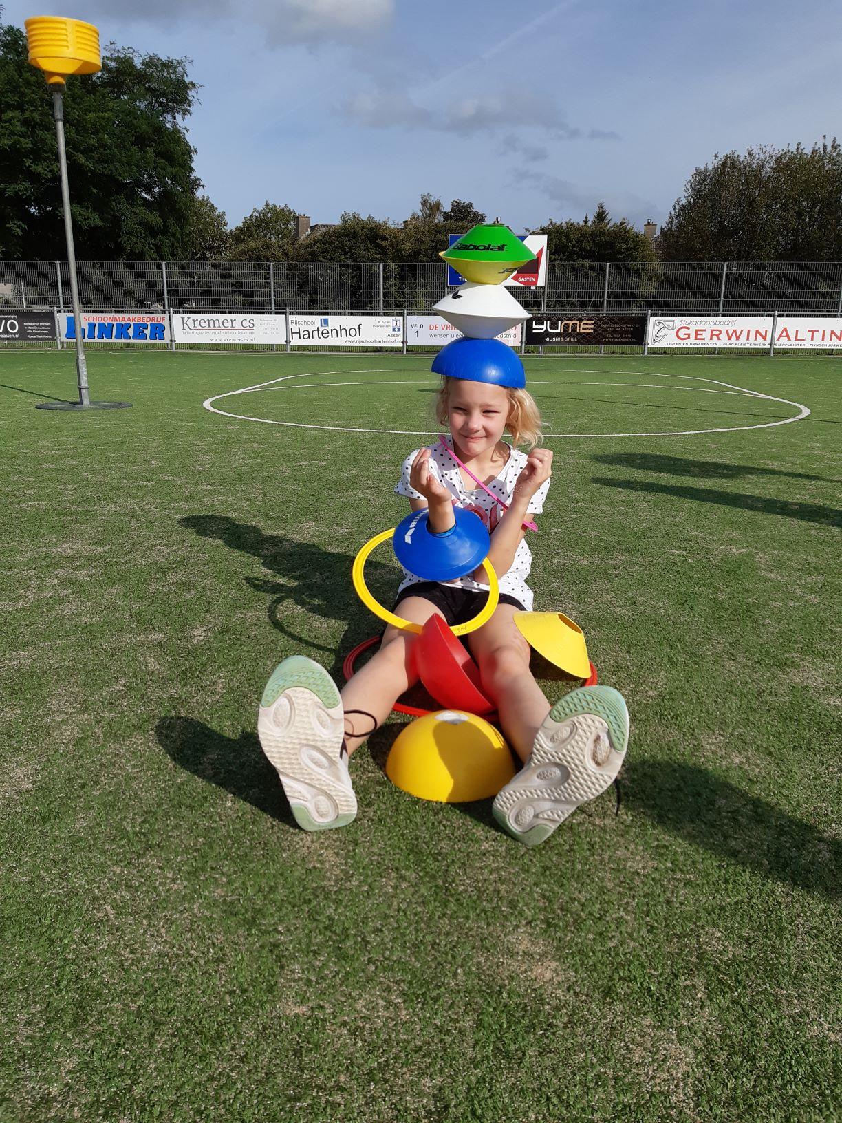 Korfbalclinic BSO's Drenthe - Kids First COP groep