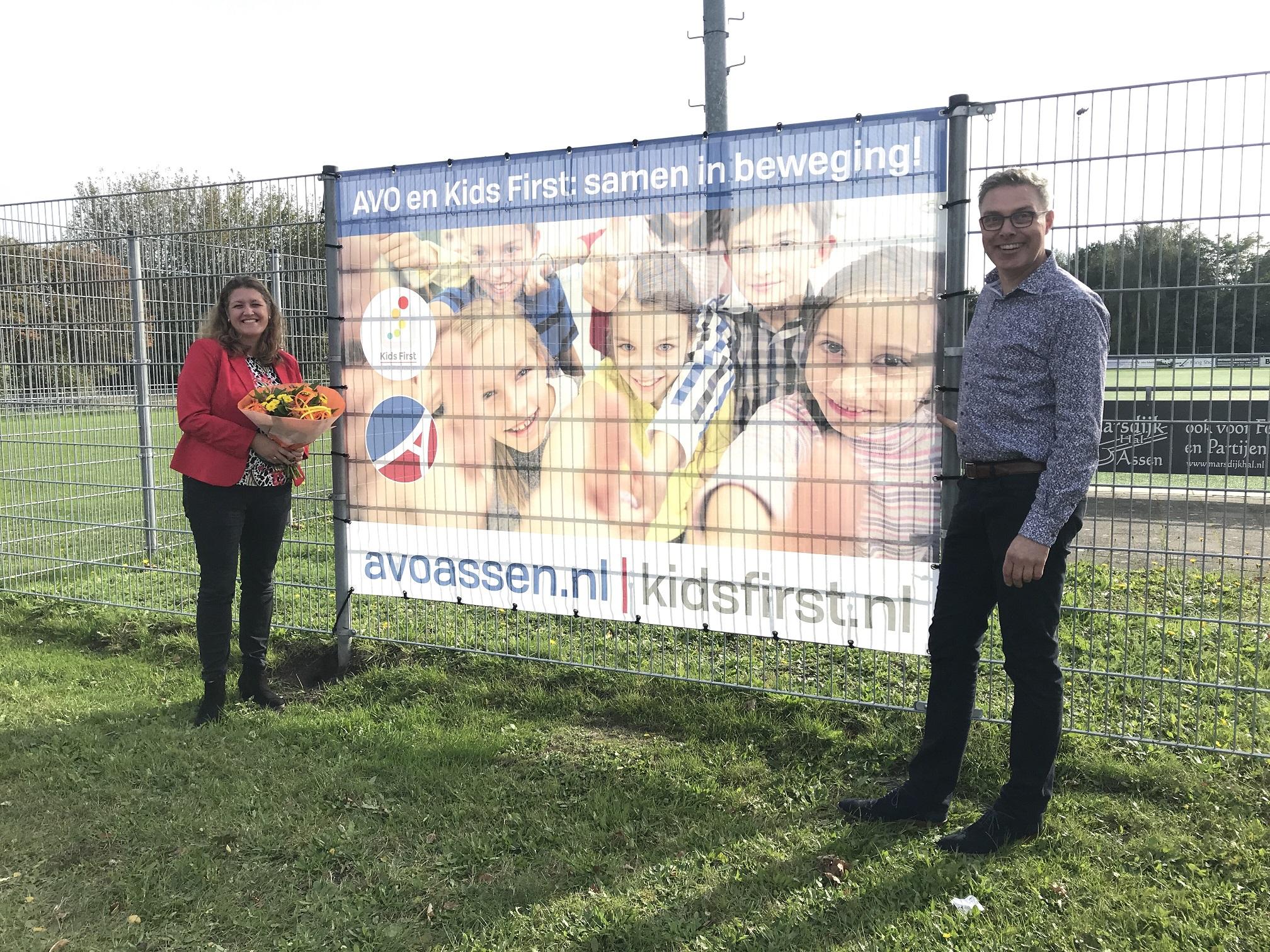 AVO Assen en Kids First samen in beweging - Kids First COP groep kinderopvang Drenthe