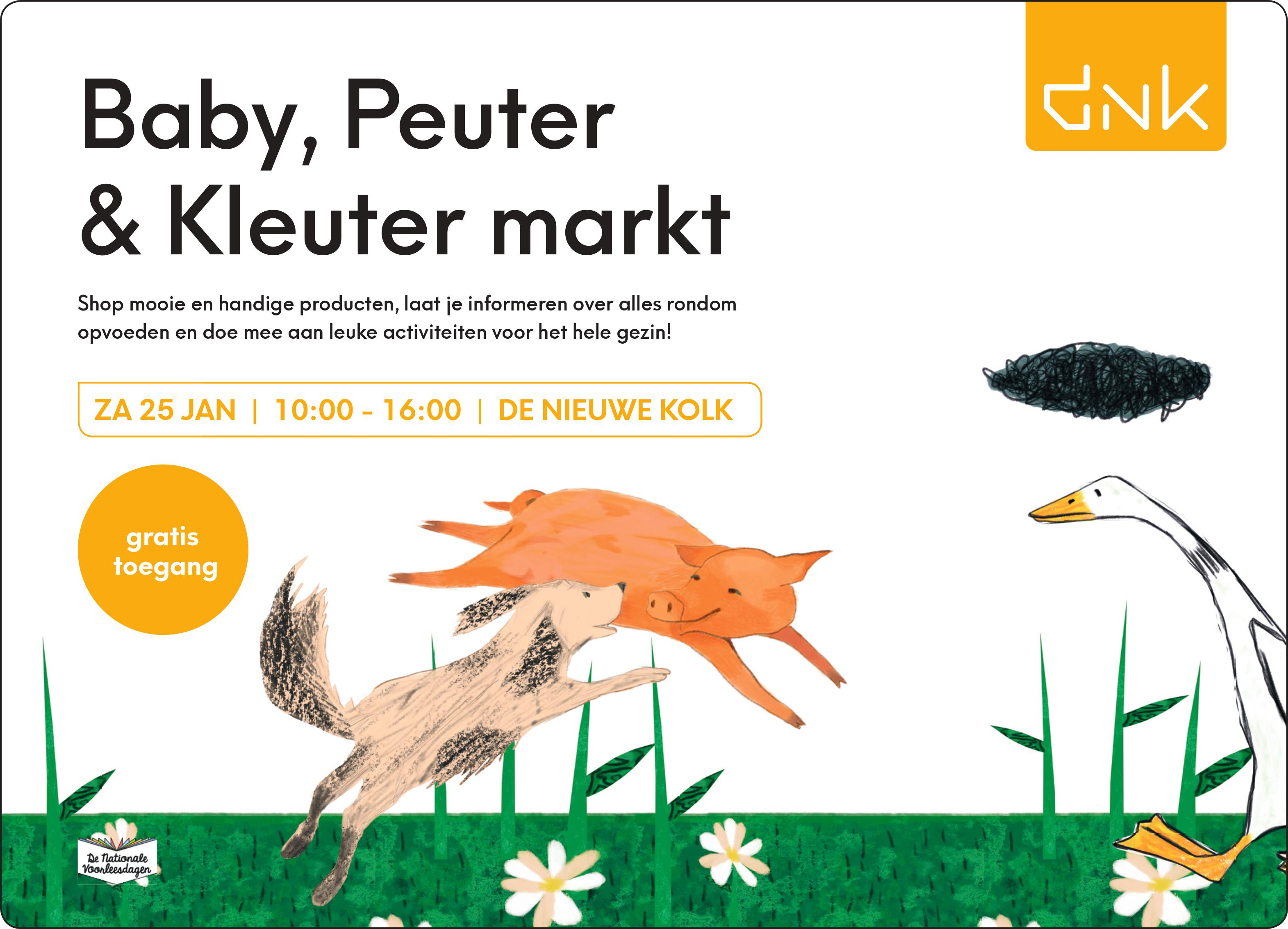 Baby, peuter & kleutermarkt DNK Assen - Kids First COP groep