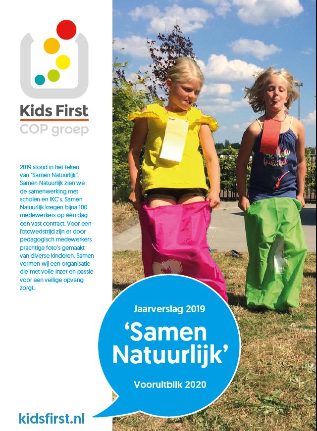 Jaarverslag 2019 - Kids First COP groep