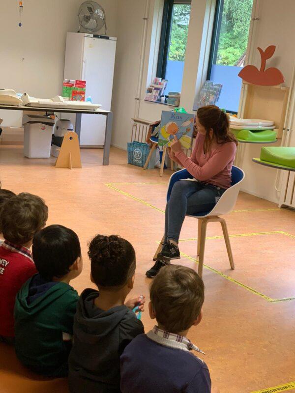 Peuters op bezoek bij consultatiebureau de Wijert - Groningen